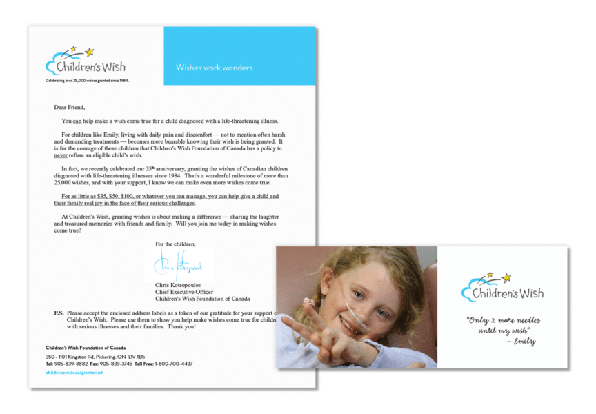 Children's Wish Foundation Case Study OE